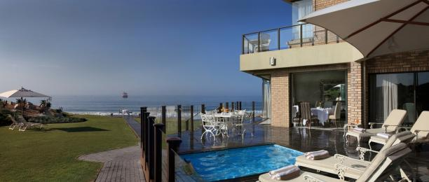 5 Star Beachfront Accommodation in Mossel Bay