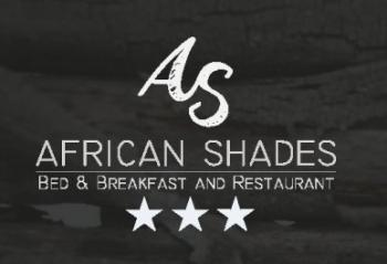 African Shades: African Shades Bed & Breakfast and Restaraunt