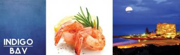 Indigo Bay Oceanfront Grill and Bar: Indigo Bay Seaood and Grill House Restaurant Plettenberg Bay