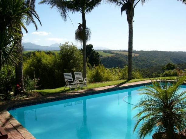 Pool and Mountain Viewa