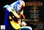 Award-winning Acoustic Guitarist TONY COX with special guest artist Thuli Cox