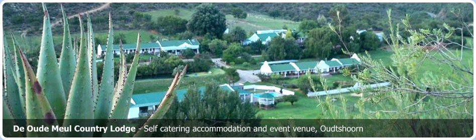 De Oude Meul self catering accommodation Oudtshoorn